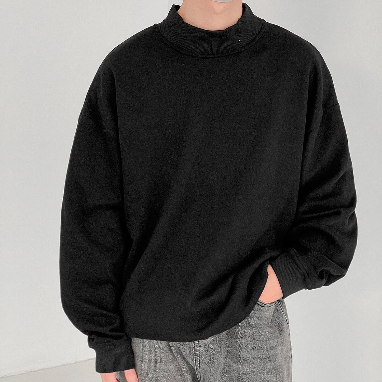 Свитшот DAZO Studio Raised Collar Sweatshirt (1)