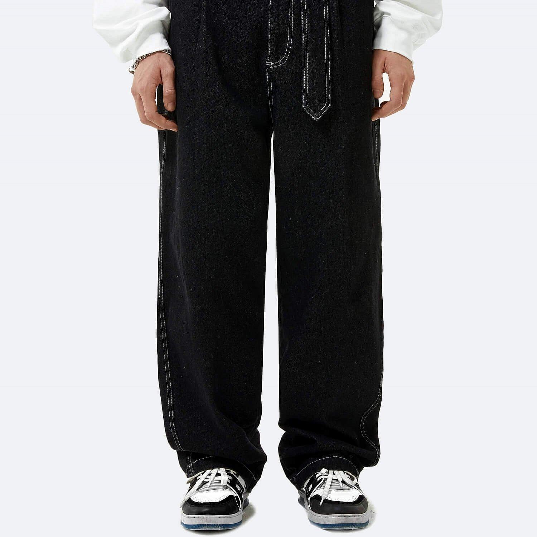 Джинсы 2GUNS Jeans White Stitching (1)