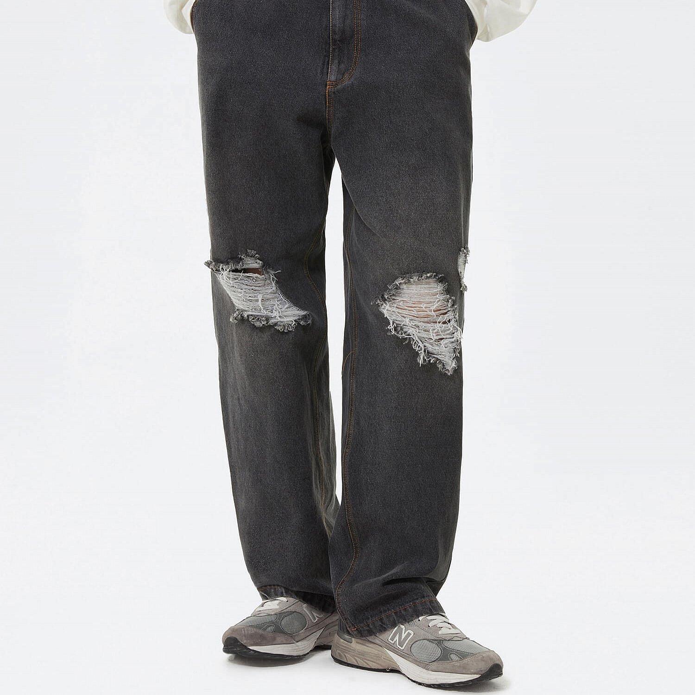 Джинсы 2GUNS Wide Leg Ripped Knees (1)