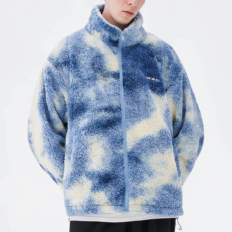 Куртка 2GUNS Sherpa Jacket Washed Tie-Dye Pattern (2)