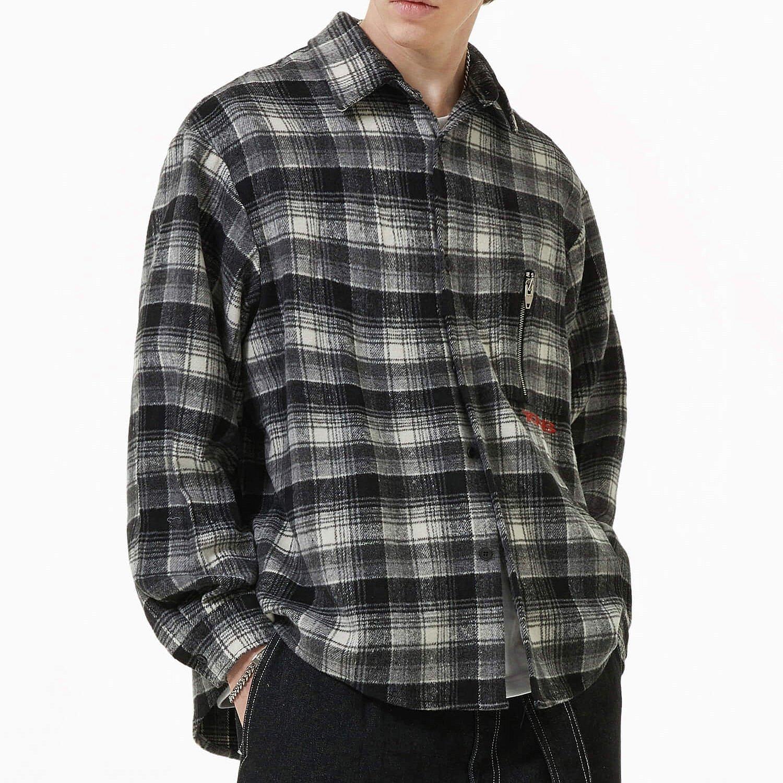 Рубашка 2GUNS Plaid Zip Pocket Shirt (2)
