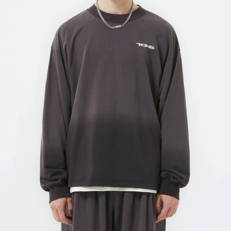 Свитшот 2GUNS Dark Washed Gradient Sweatshirt (1)