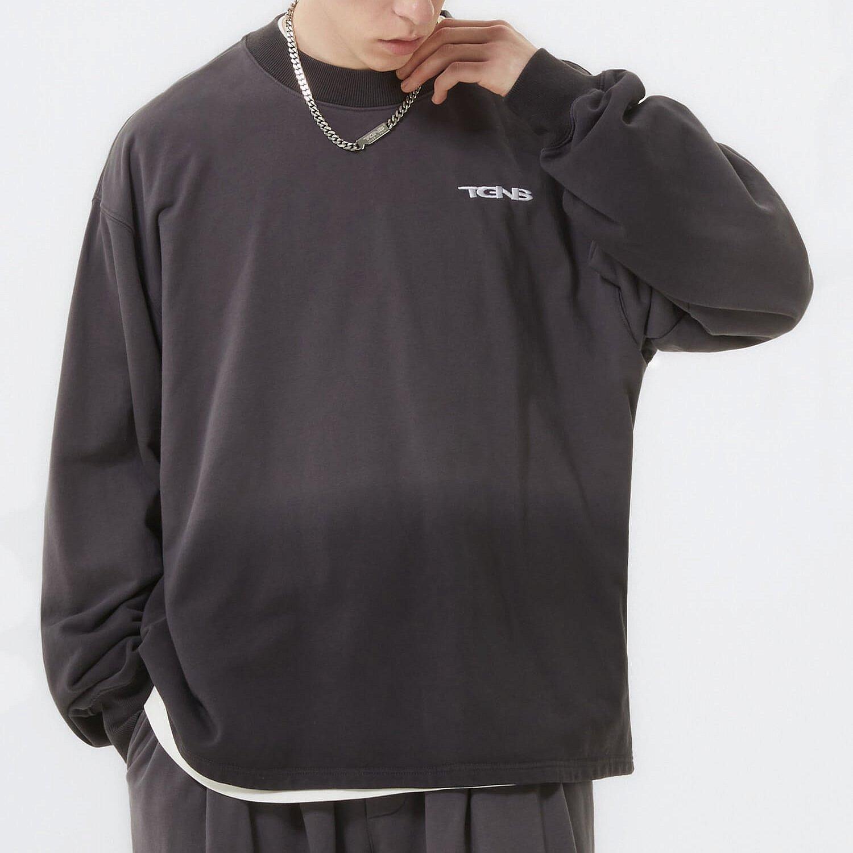 Свитшот 2GUNS Dark Washed Gradient Sweatshirt (2)