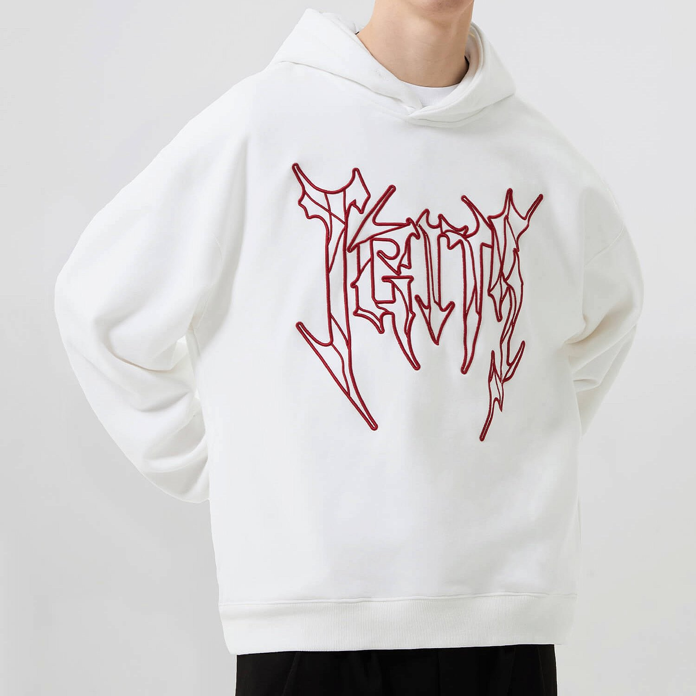 Худи 2GUNS Logo Linear Embroidery Hoodie (2)
